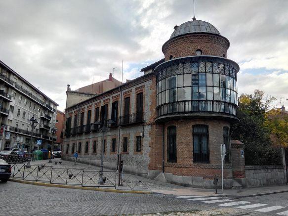Palacio de Nebreda, Paseo 2 de Mayo