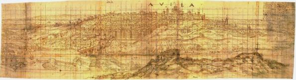 Avila (Wyngaerde 1570)
