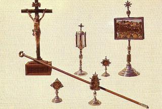 Reliquias del convento de la Santa (Ávila)