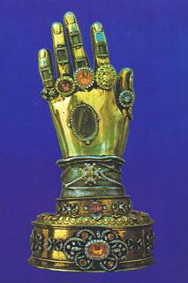 Las reliquias de SantaTeresa