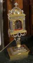 Relicario muela custodiado en Toledo