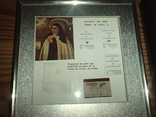 Más Que – Las Reliquias Teresa Murallas De Santa Pk8On0w