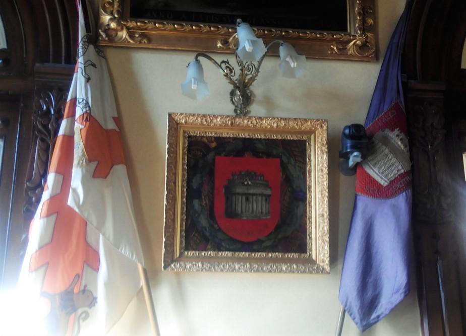 La Bandera del Regimiento de Voluntarios deÁvila