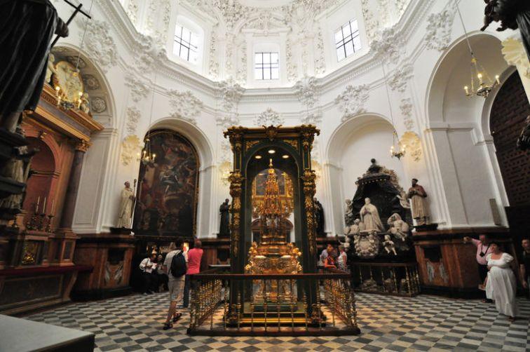Interior de la Capilla de Santa Teresa
