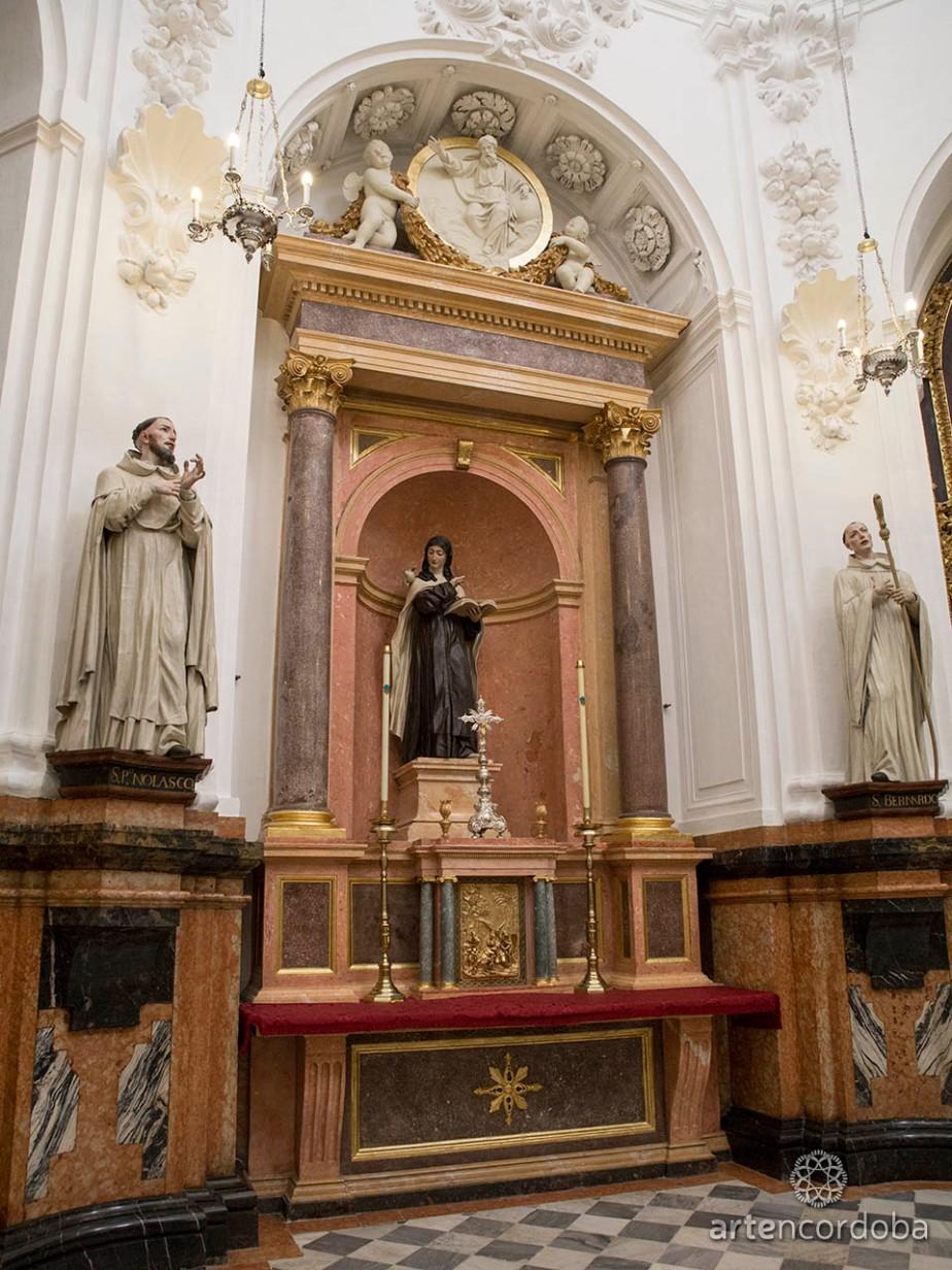 La capilla de Santa Teresa en la mezquita-catedral deCórdoba