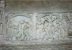 Detalle del martirio
