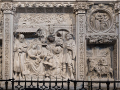 El coro y trascoro de la catedral deÁvila