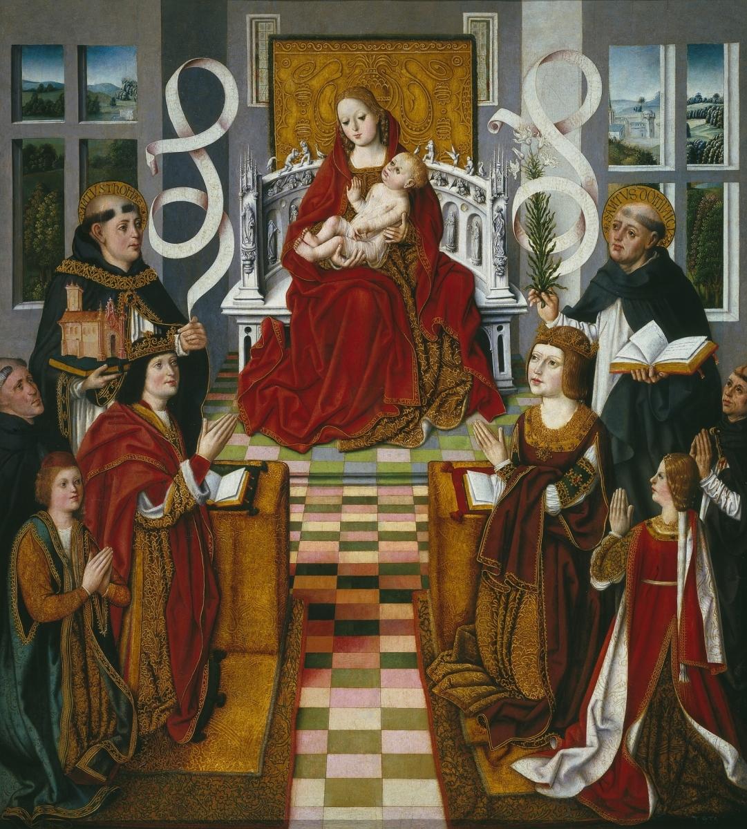 La Virgen de los Reyes Católicos
