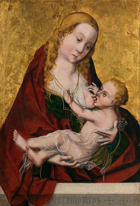 Virgen de la Leche. Maestro Bartolomé