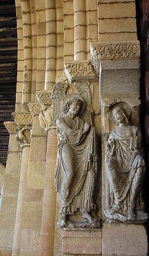 Virgen y ángel. Imagen de amaianos