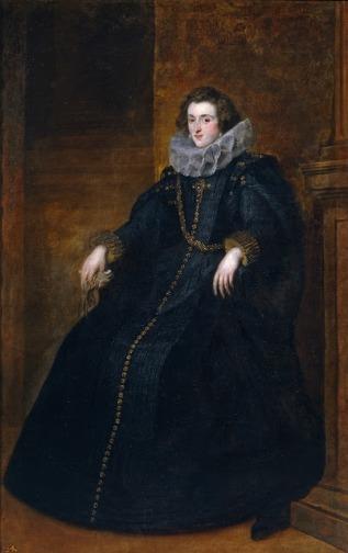 Policena Spínola y Doria, I Marquesa de Leganés Óleo de Antón van Dyck