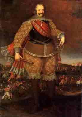 I Marqués de Leganés Óleo de Peeter Snayers