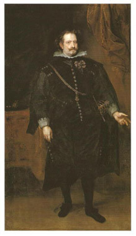 Diego Felípez de Guzmán Óleo de Antón van Dyck