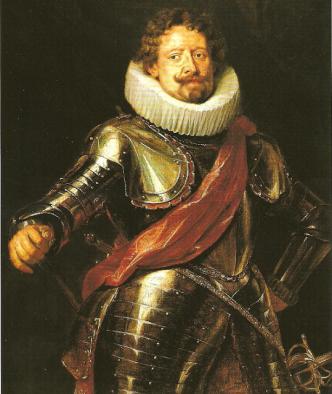 Diego Felípez de Guzmán Óleo de Pedro Pablo Rubens